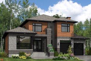 2400 square foot 3 bedroom 2 1/2 bath modern house plan