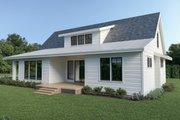 Farmhouse Style House Plan - 3 Beds 2.5 Baths 2070 Sq/Ft Plan #1070-87 Exterior - Rear Elevation