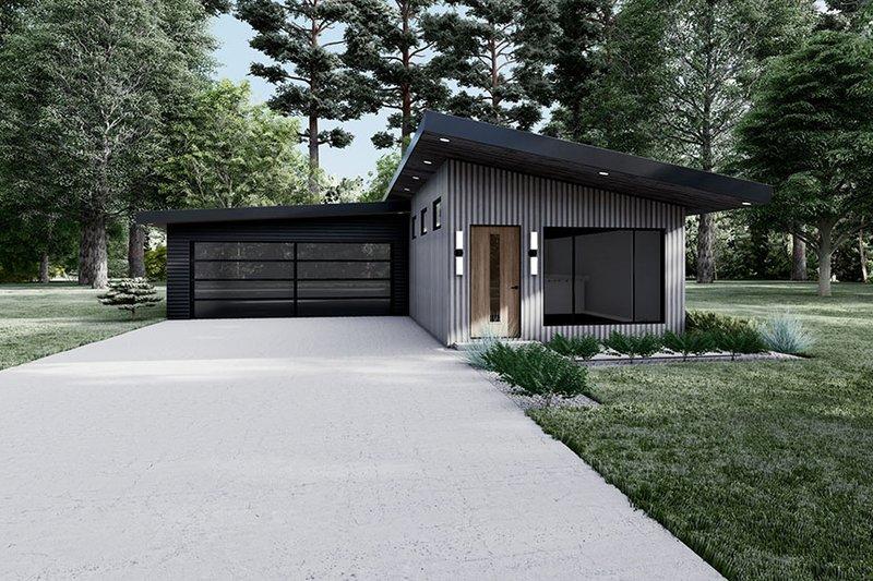 House Plan Design - Contemporary Exterior - Front Elevation Plan #923-194