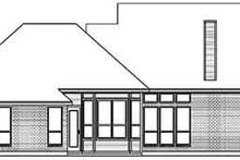 Home Plan - Colonial Exterior - Rear Elevation Plan #84-214