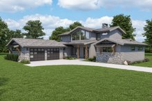 Architectural House Design - Modern Exterior - Other Elevation Plan #1070-125
