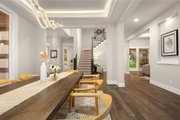 Contemporary Style House Plan - 4 Beds 3.5 Baths 3980 Sq/Ft Plan #1066-62 Interior - Dining Room
