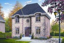 House Plan Design - European Exterior - Front Elevation Plan #23-731