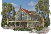 Traditional Style House Plan - 4 Beds 2 Baths 4120 Sq/Ft Plan #24-272