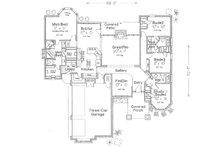 Bungalow style, Craftsman design,  main level floor plan