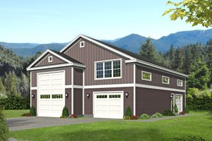 Traditional Exterior - Front Elevation Plan #932-430