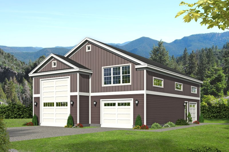 Dream House Plan - Traditional Exterior - Front Elevation Plan #932-430