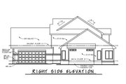 Contemporary Style House Plan - 4 Beds 2.5 Baths 2774 Sq/Ft Plan #20-2474