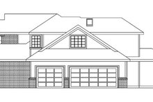 Dream House Plan - European Exterior - Other Elevation Plan #124-742