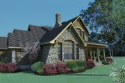 Craftsman Style House Plan - 3 Beds 2.5 Baths 2552 Sq/Ft Plan #120-167 Exterior - Other Elevation