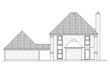 House Plan Design - Traditional Exterior - Rear Elevation Plan #45-577