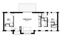 Modern Floor Plan - Main Floor Plan Plan #497-33