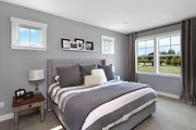 Farmhouse Style House Plan - 3 Beds 2.5 Baths 2878 Sq/Ft Plan #1070-10 Interior - Master Bedroom