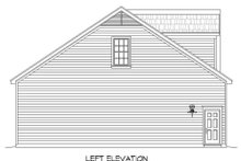 Country Exterior - Other Elevation Plan #932-124