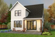 Cottage Style House Plan - 4 Beds 3 Baths 1855 Sq/Ft Plan #48-1043