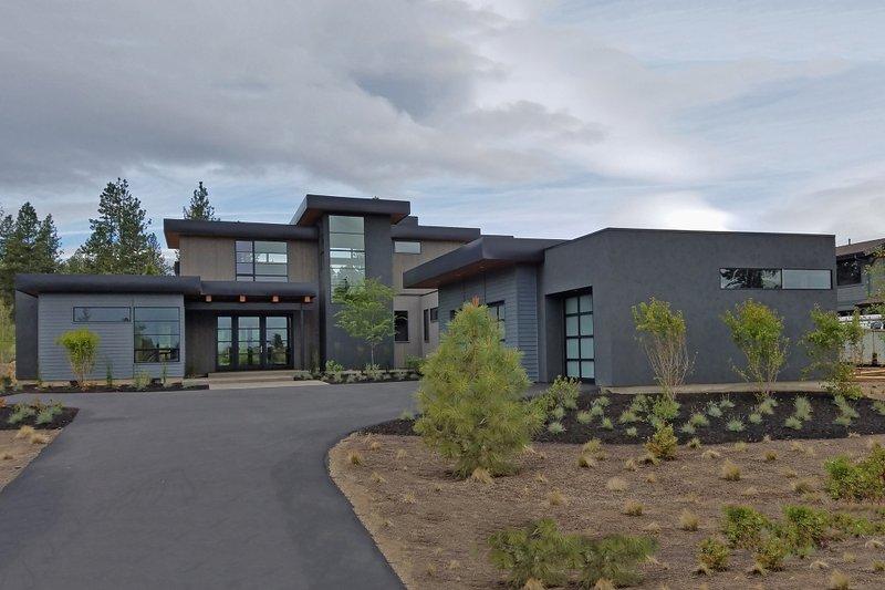 Architectural House Design - Modern Exterior - Front Elevation Plan #892-17