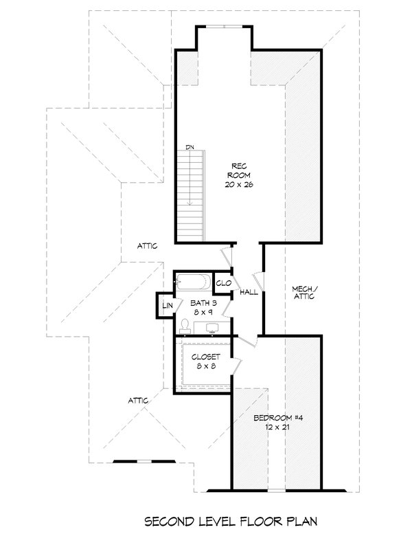 Dream House Plan - Country Floor Plan - Upper Floor Plan #932-273