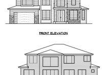 Dream House Plan - Prairie Exterior - Other Elevation Plan #1066-72