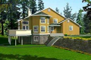 Modern Exterior - Front Elevation Plan #1-1398