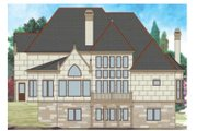 Traditional Style House Plan - 4 Beds 3 Baths 3143 Sq/Ft Plan #119-352 Exterior - Rear Elevation
