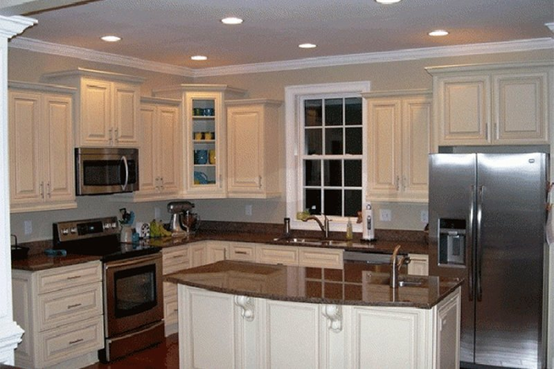 Kitchen - 2500 square foot Country Home