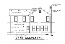 Architectural House Design - Country Exterior - Front Elevation Plan #20-2218