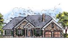House Design - European Exterior - Front Elevation Plan #70-644