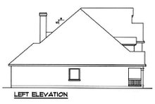 Traditional Exterior - Other Elevation Plan #40-260