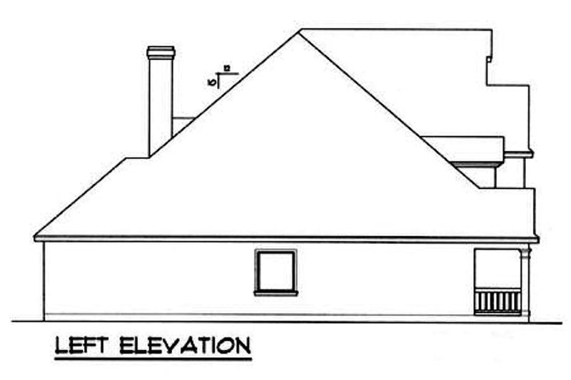 Traditional Exterior - Other Elevation Plan #40-260 - Houseplans.com