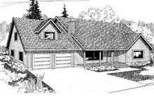 House Plan Design - Traditional Exterior - Front Elevation Plan #60-337