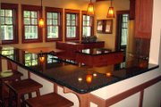Bungalow Style House Plan - 3 Beds 2.5 Baths 1997 Sq/Ft Plan #929-38 Interior - Kitchen
