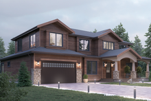 Architectural House Design - Traditional Exterior - Front Elevation Plan #1066-68