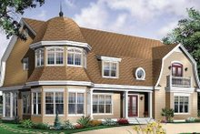Architectural House Design - Traditional Exterior - Front Elevation Plan #23-584
