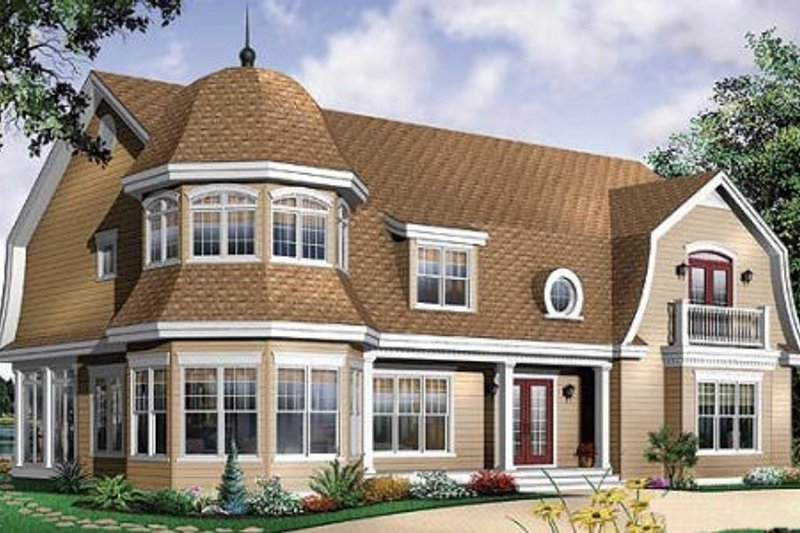 Traditional Exterior - Front Elevation Plan #23-584