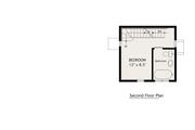 Modern Style House Plan - 2 Beds 1 Baths 798 Sq/Ft Plan #905-3 Floor Plan - Upper Floor