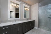 Craftsman Style House Plan - 3 Beds 2 Baths 1939 Sq/Ft Plan #895-82 Interior - Master Bathroom