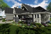Craftsman Style House Plan - 3 Beds 2.5 Baths 1971 Sq/Ft Plan #51-552 Exterior - Other Elevation