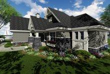Dream House Plan - Craftsman Exterior - Other Elevation Plan #51-552