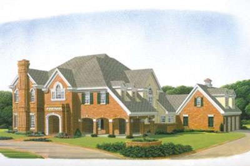 Home Plan - European Exterior - Front Elevation Plan #410-194