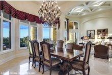 Dream House Plan - European Interior - Dining Room Plan #930-516