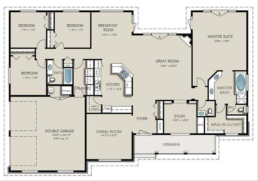 Country Style House Plan 40 Beds 40 Baths 25640 SqFt Plan 402740 Amazing Bedrooms Style Plans