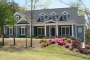 Country Style House Plan - 4 Beds 3.5 Baths 3450 Sq/Ft Plan #437-40 Exterior - Front Elevation