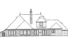 Dream House Plan - European Exterior - Rear Elevation Plan #310-695