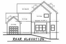 Farmhouse Exterior - Rear Elevation Plan #20-2392