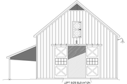 Country Style House Plan - 0 Beds 0 Baths 2709 Sq/Ft Plan #932-372 Exterior - Other Elevation