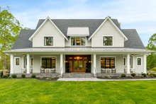 Home Plan - Farmhouse Exterior - Front Elevation Plan #51-1160