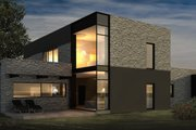 Modern Style House Plan - 4 Beds 2 Baths 2514 Sq/Ft Plan #906-28 Photo