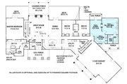 Ranch Style House Plan - 3 Beds 2.5 Baths 2830 Sq/Ft Plan #119-430 Floor Plan - Main Floor