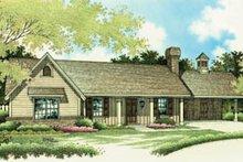 Home Plan Design - Ranch Exterior - Front Elevation Plan #45-107