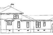 European Style House Plan - 5 Beds 3.5 Baths 5908 Sq/Ft Plan #81-411 Exterior - Other Elevation